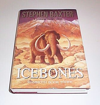 ICEBONES Mammoth Book Three, Baxter, Stephen