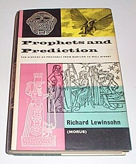 Prophets and Prediction, Lewinsohn, Richard [Morus]