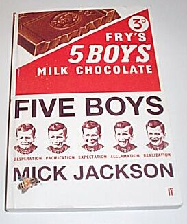 Five Boys [Uncorrected Proof], Jackson, Mick