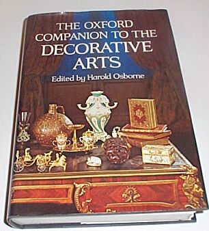 The Oxford Companion to the Decorative Arts, Osborne, Harold