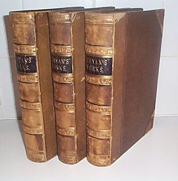 The Works of John Bunyan in 3 Vols, Bunyan, John